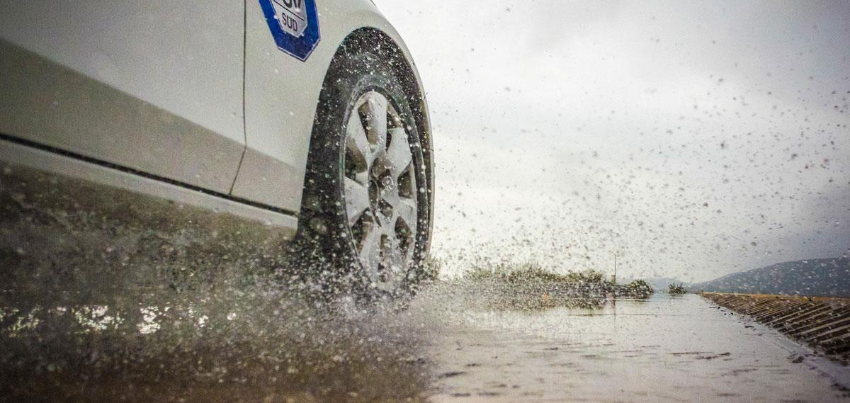 wet conditions